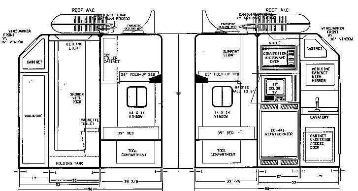 Floor Plan Condo Call 800 2146905 La Mesa Toy Hauler Rv