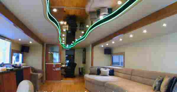 Custom Trailer Interior